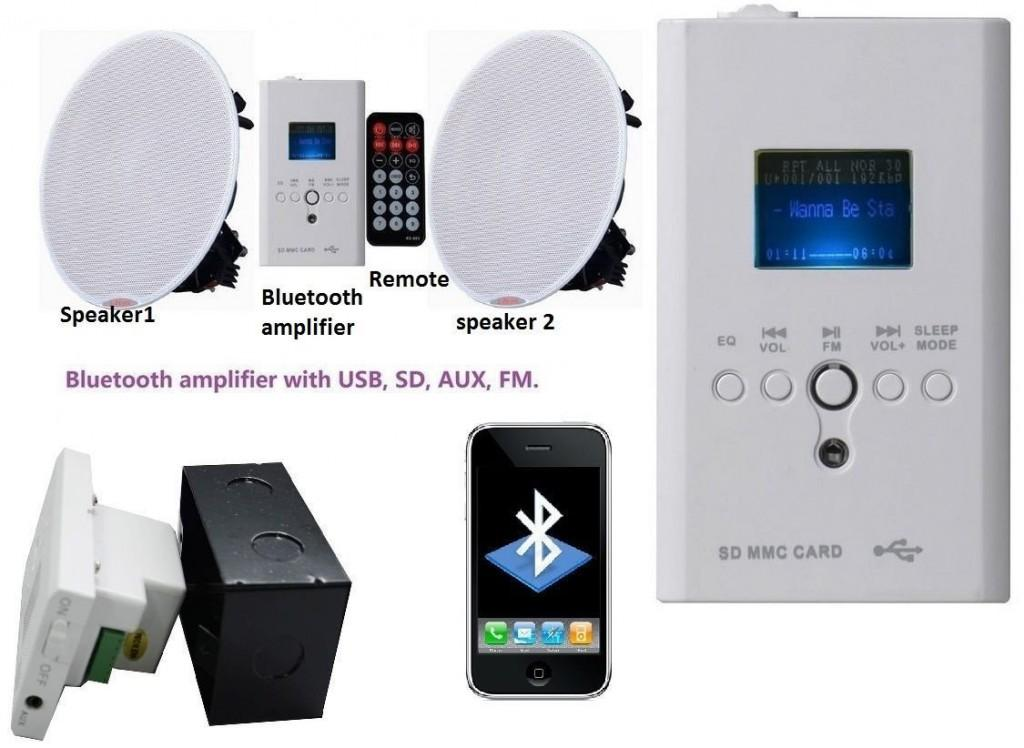 bluetooth ceiling speaker kit image