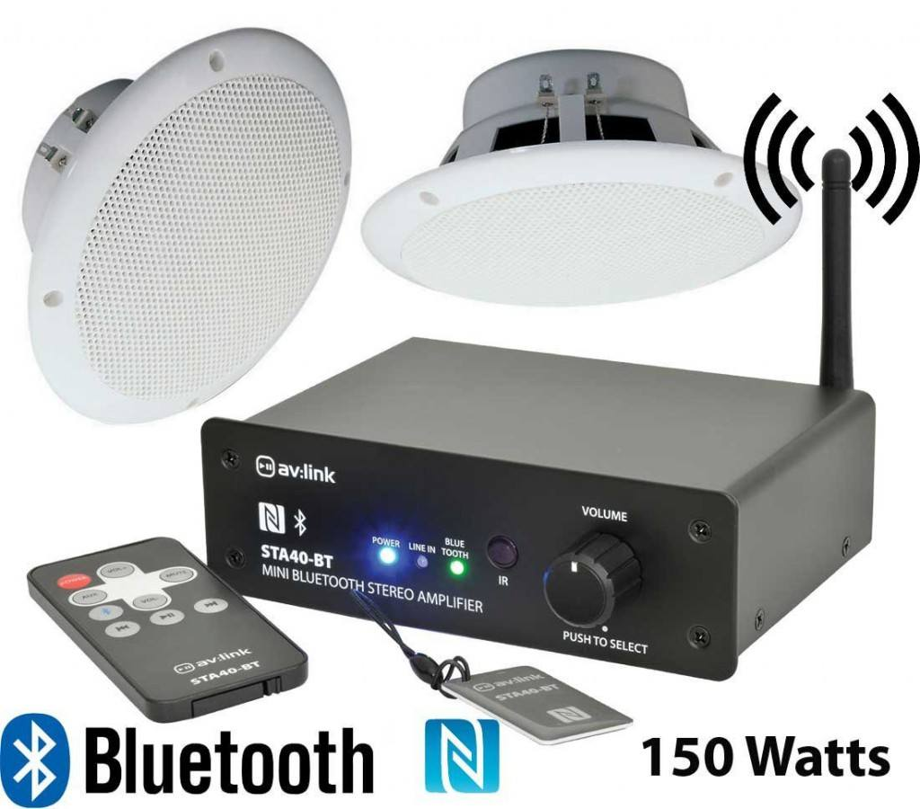 In Wall Bluetooth Amplifier Ceiling Speakers