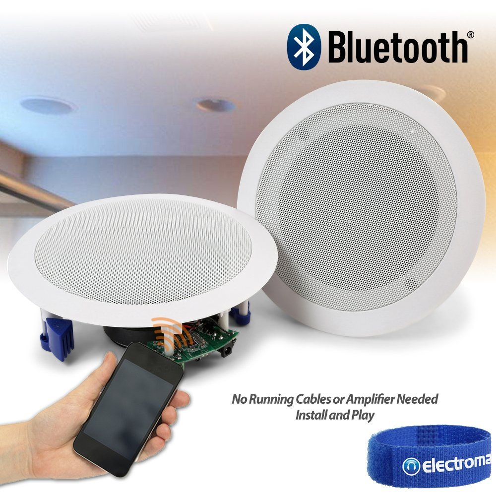 Bluetooth Ceiling Speakers Wireless Bluetooth Electronics