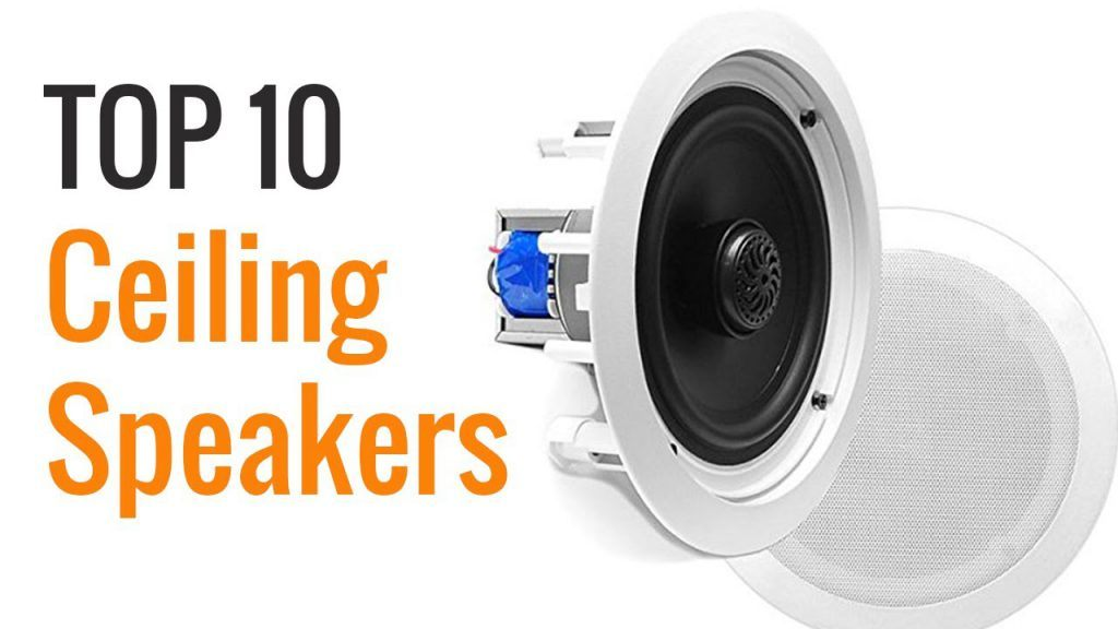 top ten ceiling speakers image