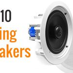 top ten Bluetooth ceiling speakers image