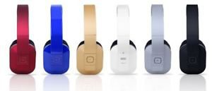 august ep650 Over Ear Bluetooth Headphones in six colours